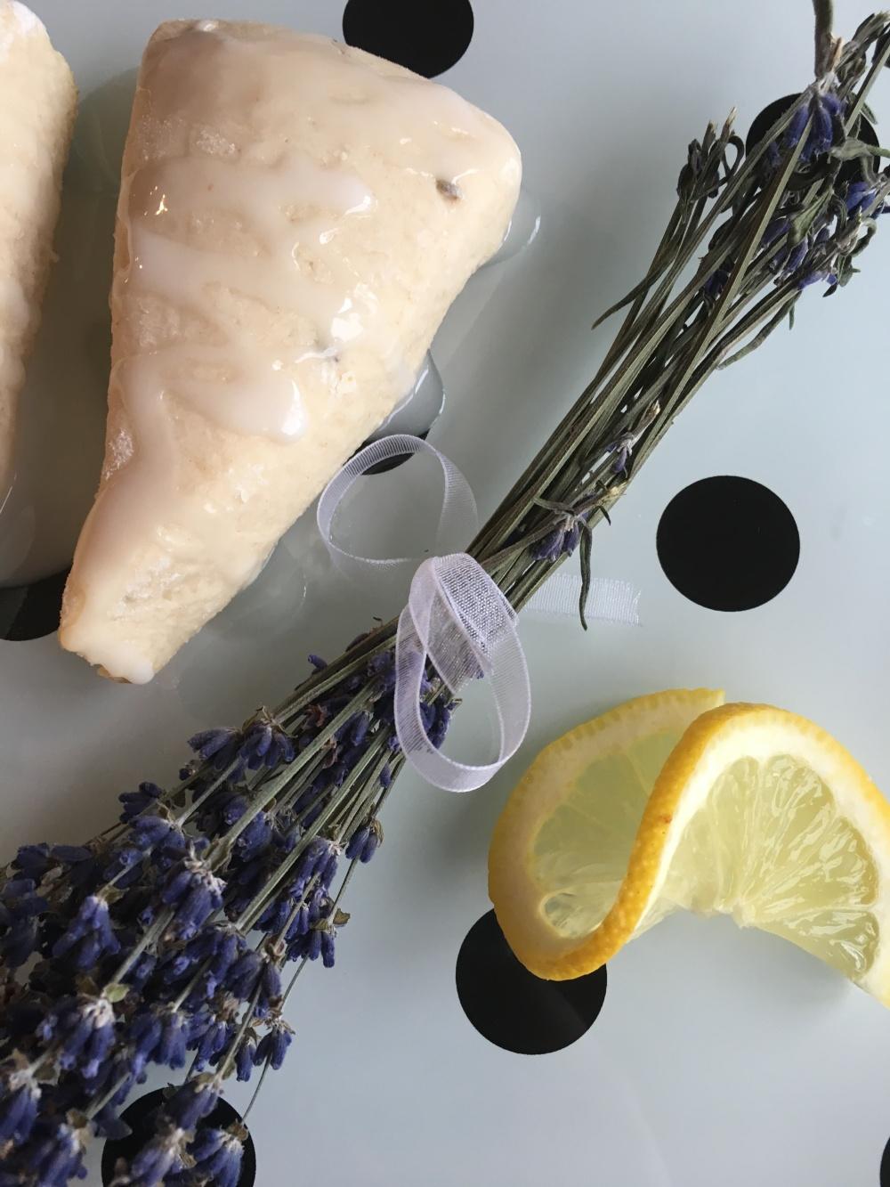 Lemon Lavender Scone